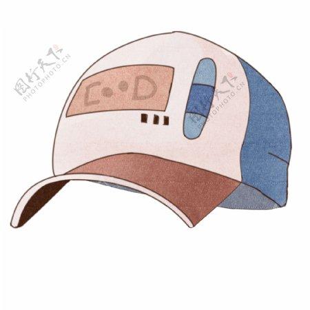 手绘卡通帽子插画