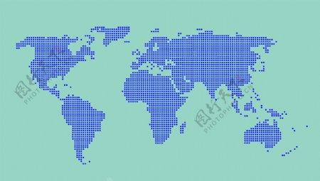 世界地图地图蓝色地图