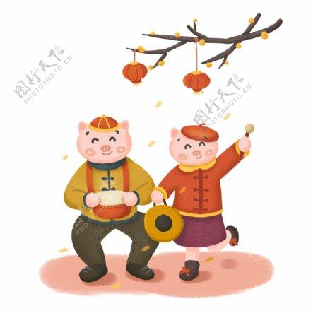 欢度猪年2019年新年快乐
