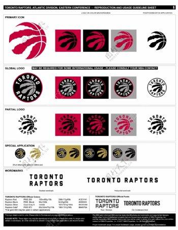 NBA多伦多猛龙logo