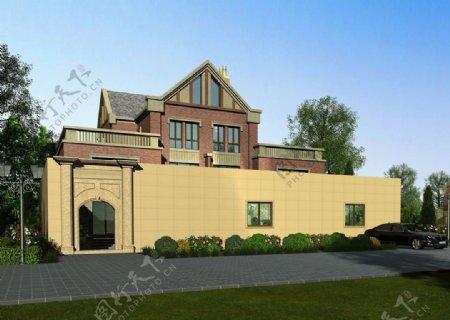 欧式别墅外墙设计