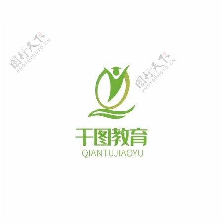 教育培训机构学校校徽LOGO标志原创设计