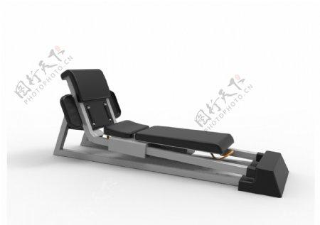 家用多功能健身器材原创设计3D模型stp