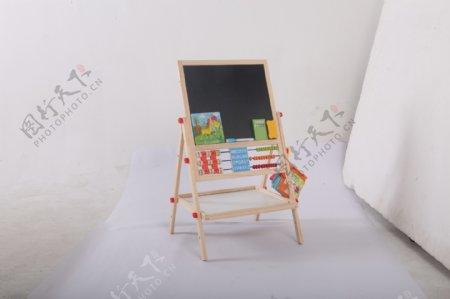 支架式儿童画画板磁性小黑板3