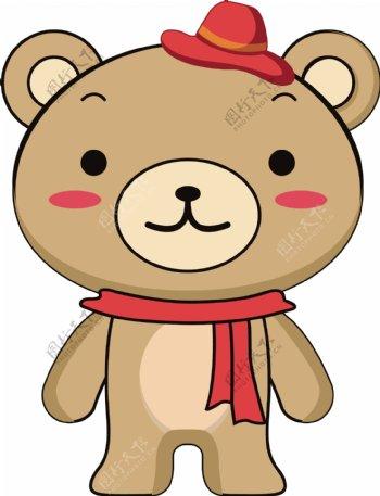 小呆熊卡通形象设计