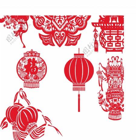 元宵春节灯笼