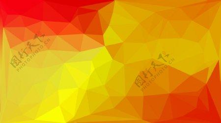 晶格化红黄渐变