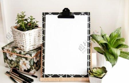 白色写字板