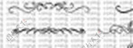 复古直线花纹笔刷