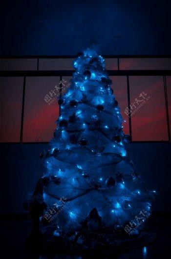 圣诞树圣诞节节日庆祝