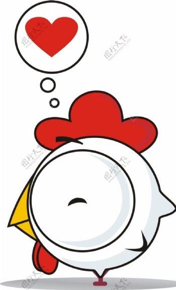 卡通小鸡CDR矢量可更改