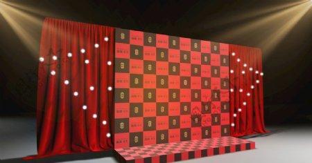 门头3d设计展览展示