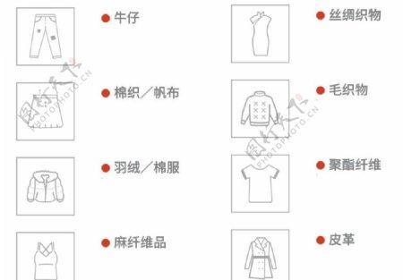 服饰矢量图标