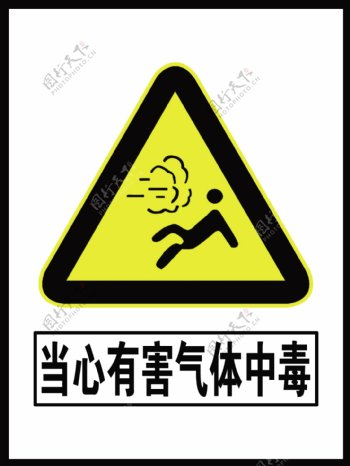 当心有害气体中毒