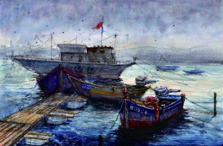 中国画起航