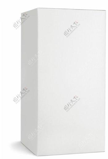 空白纸箱立体图