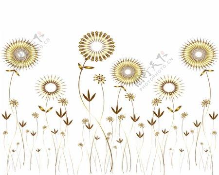 太阳花螺旋叶子风车