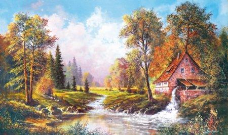 油画欧式风格装饰画