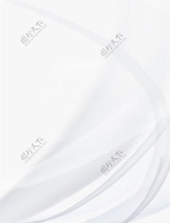 手绘简约白底波浪流线线条图片