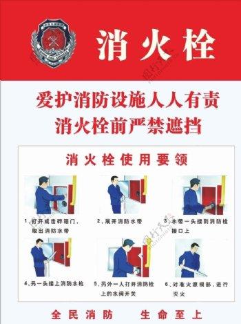 消防栓使用说明消防栓使用要领图片