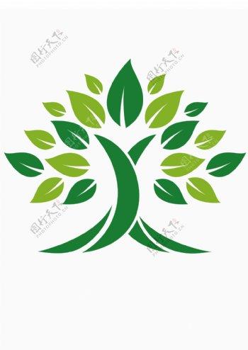 绿树标识标志图标海报素材图片
