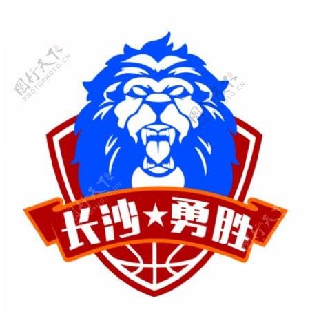 NBL长沙勇胜男篮队徽图片