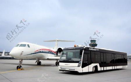 机场专车图片