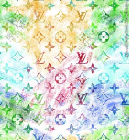 LV大牌花型图片