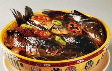 招财炖鱼图片