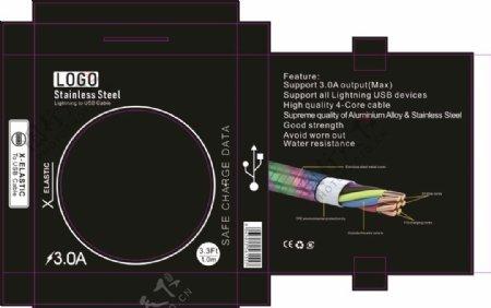 数据线包装设计图片