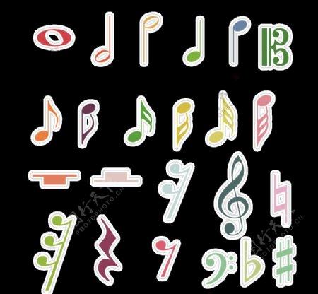 音乐音符图片