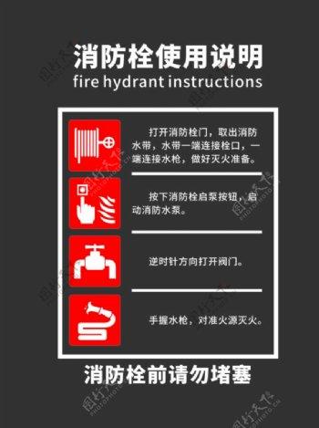 消防使用说明图片