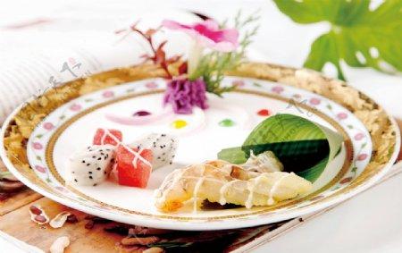 香煎琵琶虾图片
