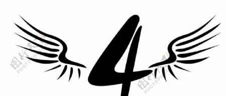 4班翅膀图片