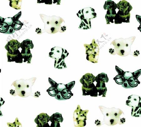 小狗图案图片