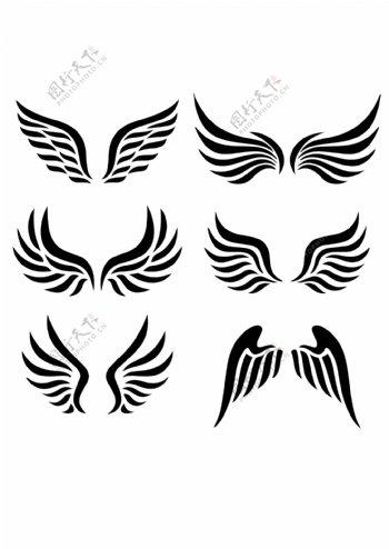 各种翅膀图片