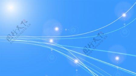 淡蓝色线条背景素材图片