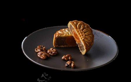 中华传统节日美食月饼图片素材