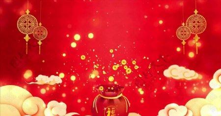 红色喜庆高清视频
