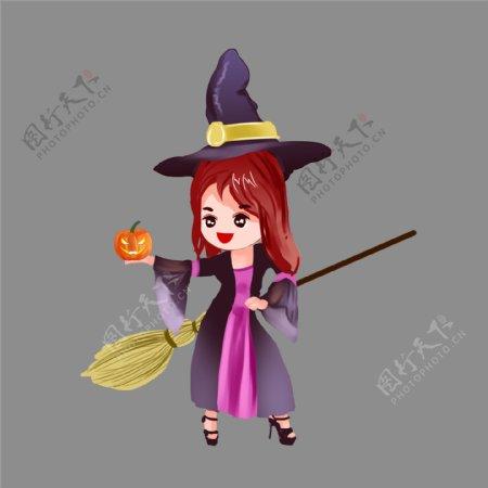 万圣节恐怖女巫图片