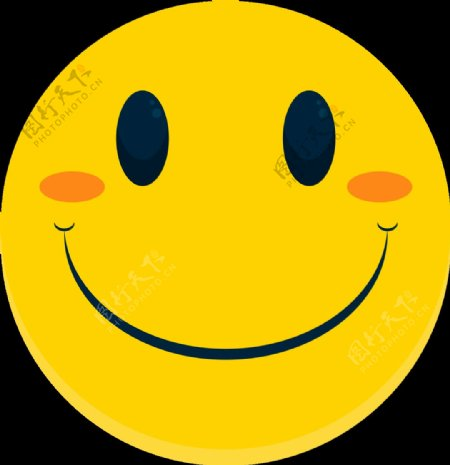 微笑表情图片