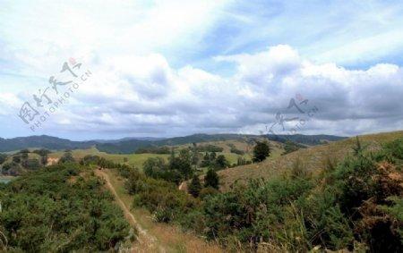新西兰自然风景图片