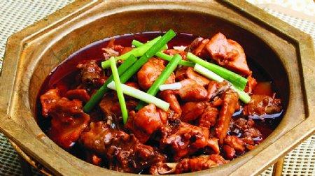 豫菜拳头煎烧醋烹鸡图片
