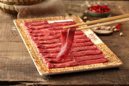 火锅嫩牛肉图片