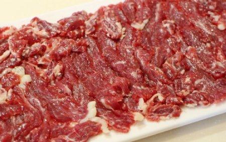 涮火锅嫩牛肉图片