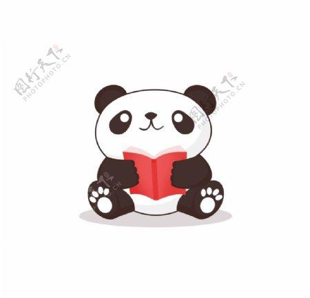 熊猫简笔画图片