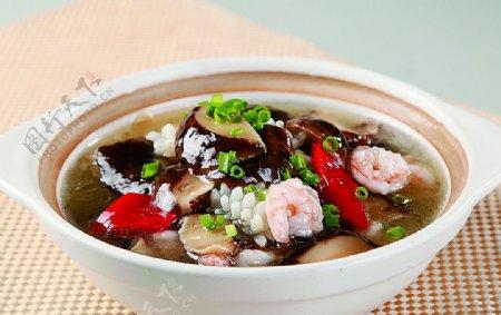 特色菜一品香菇煲图片