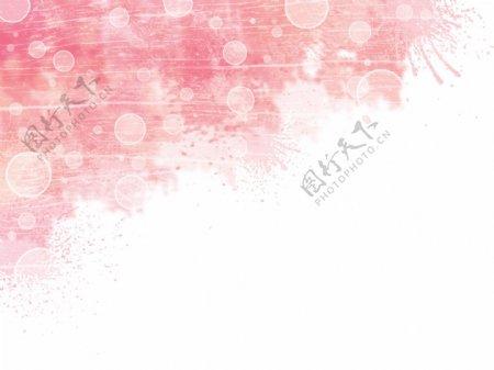 粉色泼墨背景图片