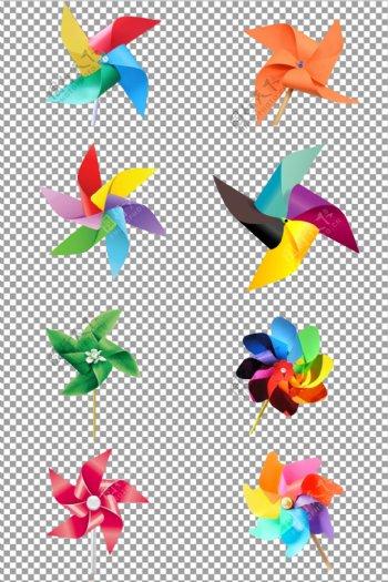 手工装饰风车图片
