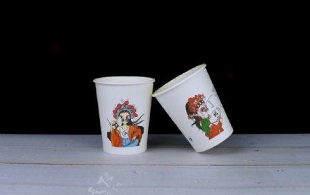 国潮纸杯图片